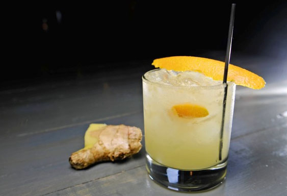 Raise your glass: The Ginger Smash, Hersh's
