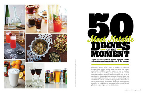 imbibe – 50 Most Notable Drinks of the Moment