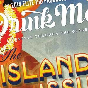 """The Islands"" Issue of <span>Drink Me</span> Magazine"