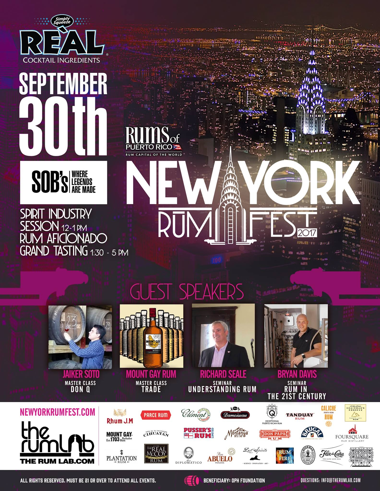 NY Rum Fest Sets the Tone for Rum-Focused Events